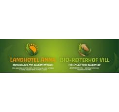 Logo Landhotel Anna und Bio-Reiterhof Vill